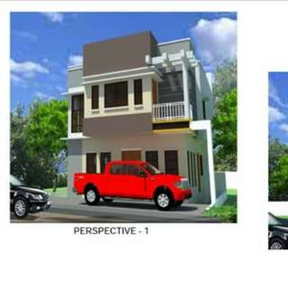 House and lot single attached at Marikina Heights