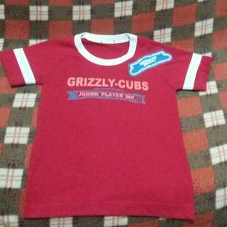 3-4y.o Grizzly Shirt