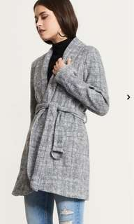 Dynamite Wrap Coat with Belt