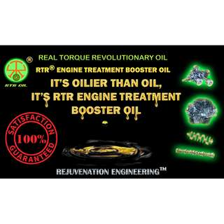 RTR® Engine Treatment Booster Oil