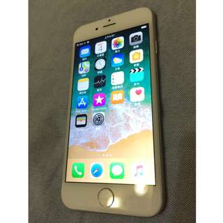 iphone 6  64G 銀色 外觀98新 全機無傷