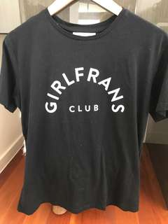 Girlfrans Club Tee Ink