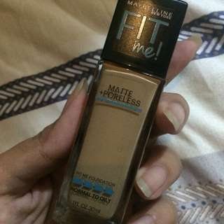 Maybelline Fit Me Foundation Matte + Poreless