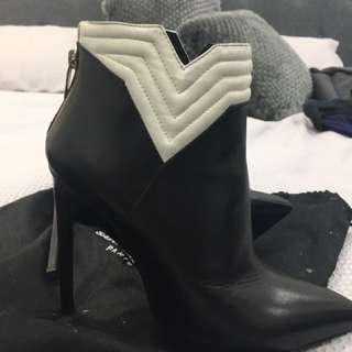 GENUINE YSL ANKLE BOOTS