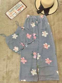 Summer Cami Top and Square Pants