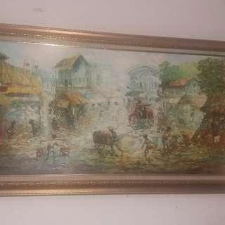 Lukisan karya mukhlis