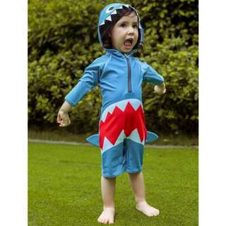Shark baby toddler swimwear swimsuit