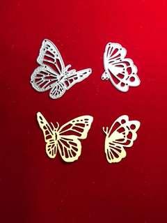 Butterfly #9 scrapbooking Cutting Dies 2 pc set