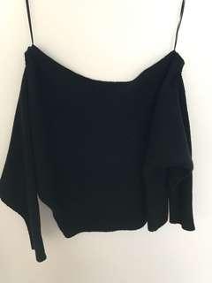 Slideshow Black Sweater