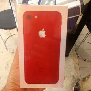 Kredit iphone 7 128GB RED proses cepat.