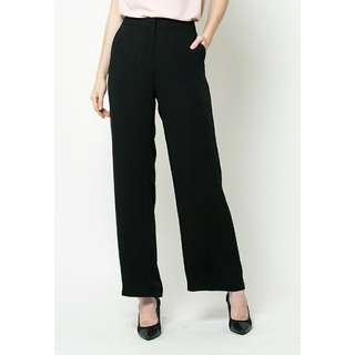 Celana Kantor The Executive - Long Pants Semi Kulot High Waist