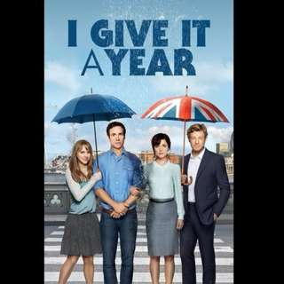 [Rent-A-Movie] I GIVE IT A YEAR (2013)
