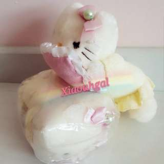 🔴$36.90➡ $19.90 FOLLOWERS ONLY!🔴**Those follow but unfollow, Pls detour. Tks**🐰JAPAN SANRIO ORIGINAL - AUTHENTIC BRAND NEW IN PLASTIC +TAG🐰HELLO KITTY HAND/WRIST REST Cushion/Arm rest/Plush/Doll/Toy! (Computer work/sch)💋No Pet No smoker clean Hse💋