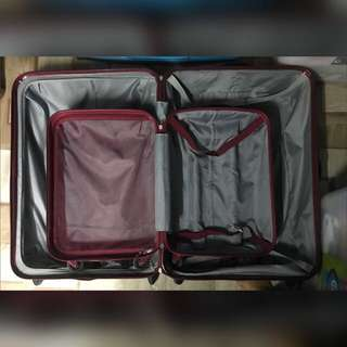 Samsonite luggage bag (medium and large)