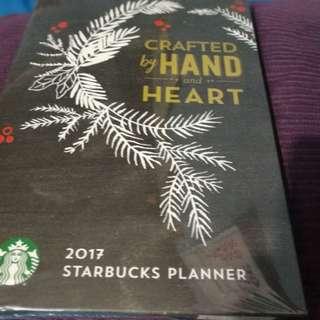 Authntic starbucks planner 2017