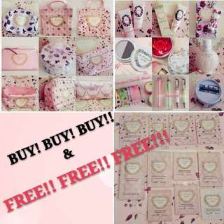 🔴FREE #Blessing to 30/4/2018(While Stock lasts!)▶️MY FOLLOWERS ONLY🚫Non Followers No Freebies🚫🐰FRESH AUTHENTIC BRAND NEW🐰 *RESTOCK OFTEN*🌟LIMITED EDITION🌟LADUREE Macaron Rose Carnation Handcream/ Body lotion// Pouch💋No Pet No Smoker Clean Hse💋