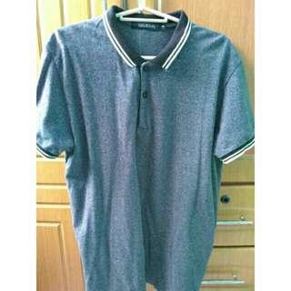 Folded & Hung Gray Polo Shirt