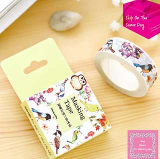 7m Birds In The Air Washi Tape