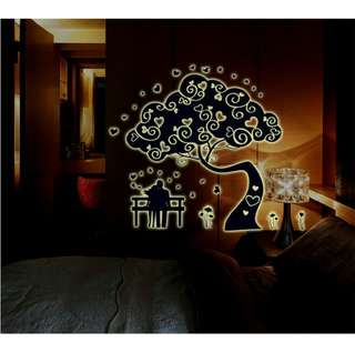 4 pcs in 1 Price Easy to install Wall Sticker