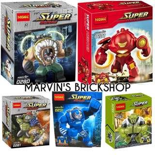 For Sale Building Blocks Toy Super Hero Big Figure