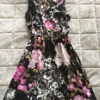 Floral Dress - Size XXS