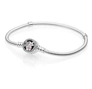 Inspired Pandora Bracelet Poetic Bloom Clasp