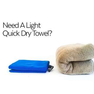 Large Quick Dry Microfibre Towel