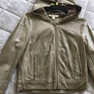 Vintage Leather Jacket - Size 8