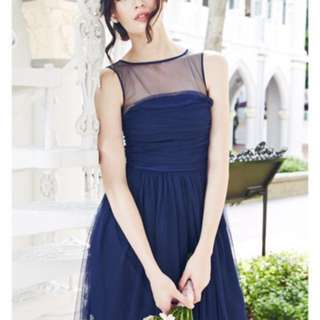 Party/ bridesmaid dress Navy from Love and Bravery