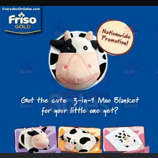 Friso 3in1 moo/cow blanket