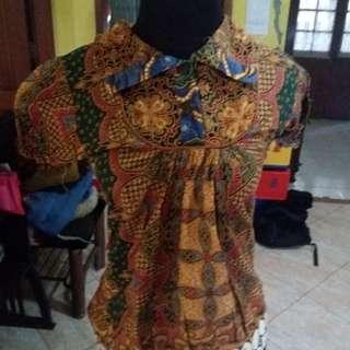 Baju kerah batik baju batik