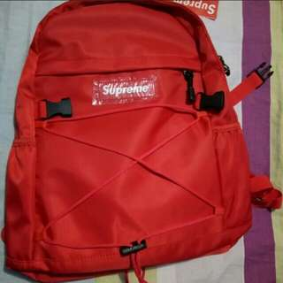 SUPREME BACKPACK (actual photo)