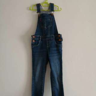 Jeans Overall / Romper For 4yo Girl