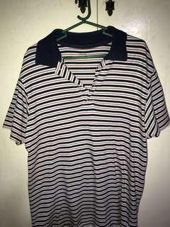 Uniqlo Striped Polo Shirt (Small)