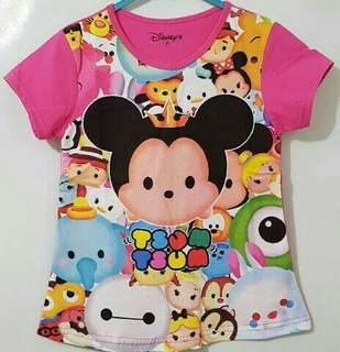 Tsum Tsum Tee ( Size 5,6 years old)