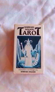 Rare 1986 mint condition Barbara Walker TAROT CARDS