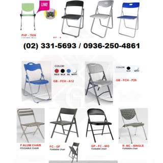 *Plastic Folding (Chairs) (Tables) Office Partition