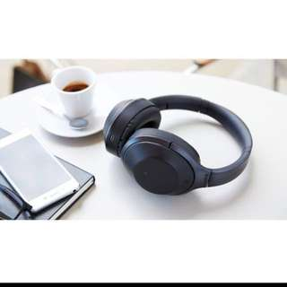 Brand New Sealed In Box AUTHENTIC SONY MDR-1000X Wireless Noise Cancelling Headphones