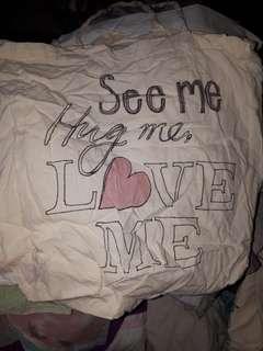 Bag see me hug me