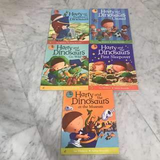 Harry and the Dinosaurs series