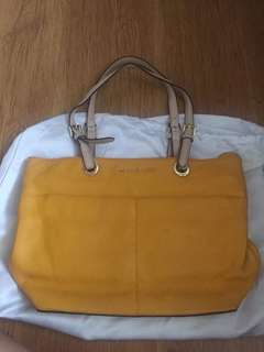 Authentic Yellow Michael Kors Tote