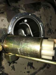 Welbro fuel pump & piston kancil 850