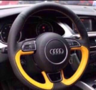 Customised Car Steering Wheel Wrap