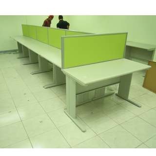 Khomi Furniture Shop - office partition ( green color )