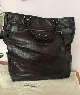 Balenciaga city leather tote