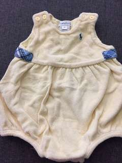 Reduced BABY ROMPER RALPH LAUREN 6mth