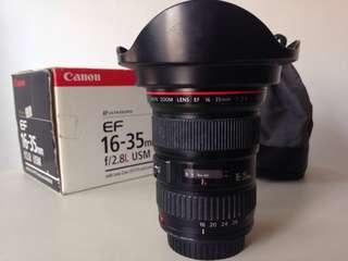 EF 16-35mm f2.8L USM