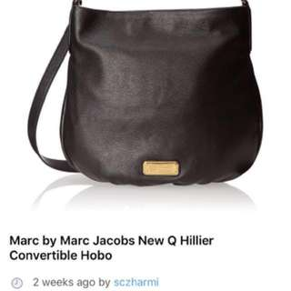 Authentic Marc Jacobs Hillier Boho (Brown)