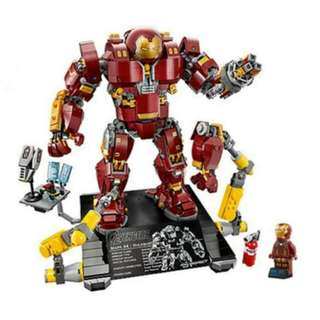 Hulkbuster Iron Man Avengers age of ultron infinity war compatible with Lego 76105
