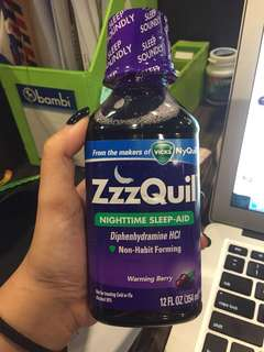 ZZZQuil for INSOMNIA